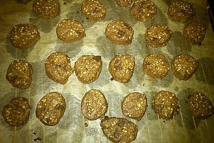 Schokoladen - Nussplätzchen 10
