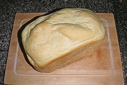 Weißbrot für den Brotbackautomaten 1