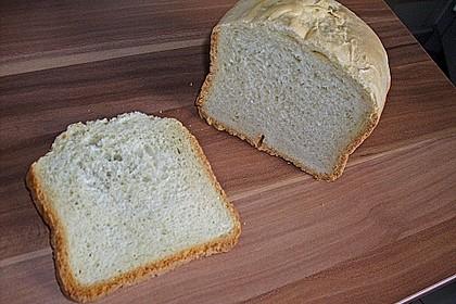 Weißbrot für den Brotbackautomaten