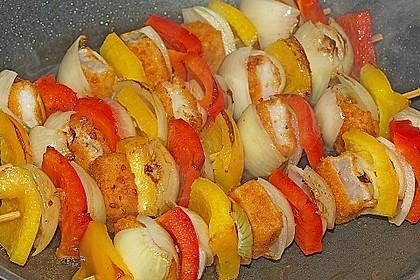 Fischstäbchenspieße zum Grillen und Braten 1