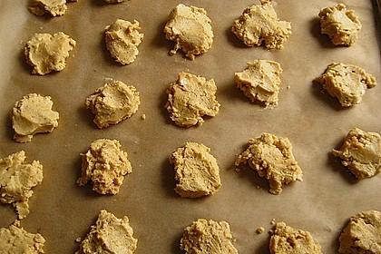 Erdnusscookies 2