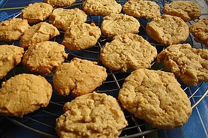 Erdnusscookies 1