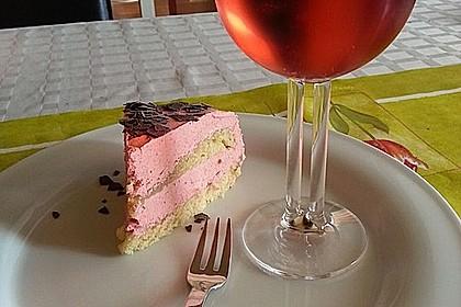 Erdbeer - Vanille - Buttercreme (Bild)