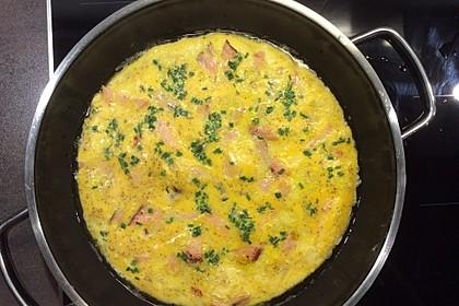 Omelett mit geräuchertem Lachs 12