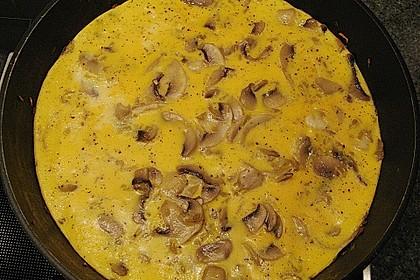 Omelett mit geräuchertem Lachs 34