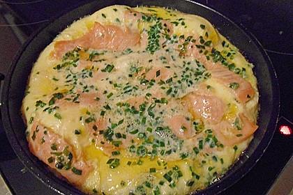 Omelett mit geräuchertem Lachs 23
