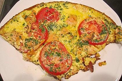 Omelett mit geräuchertem Lachs 28