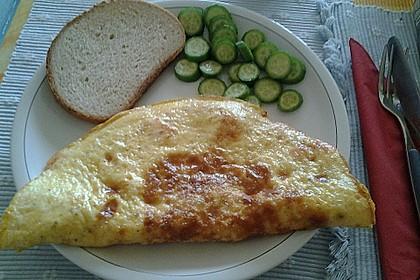 Omelett mit geräuchertem Lachs 16