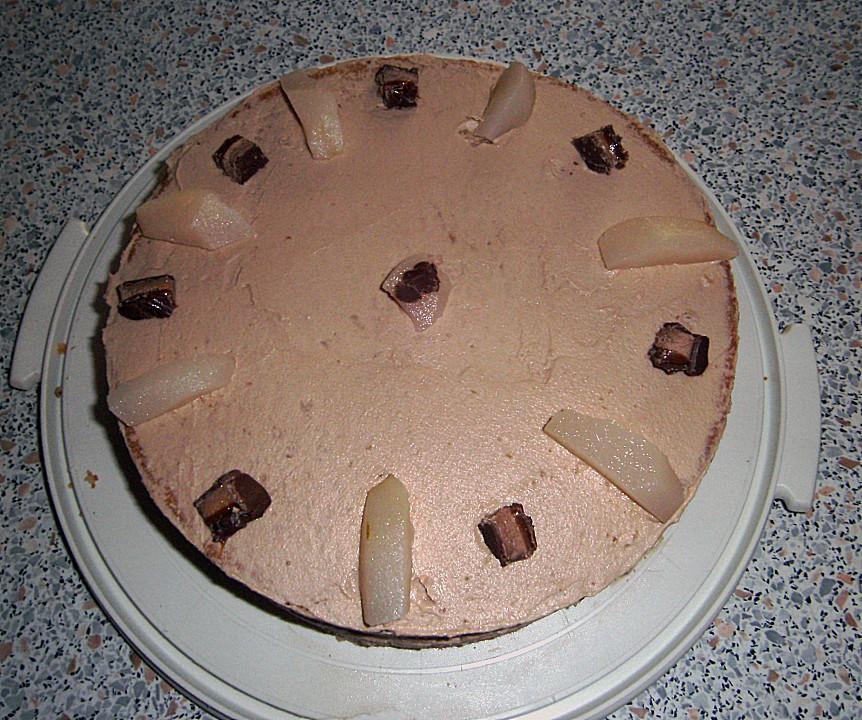 Mars Birnen Torte Von Aloisia Chefkoch De