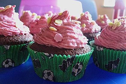 Schokoladencupcakes mit Himbeermascarpone 3
