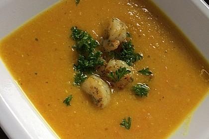 Möhren - Linsen Suppe auf karibische Art 12