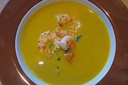 Möhren - Linsen Suppe auf karibische Art