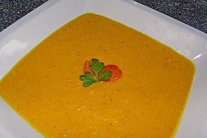Möhren - Linsen Suppe auf karibische Art 5