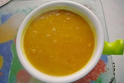 Möhren - Linsen Suppe auf karibische Art 14