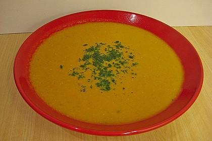 Möhren - Linsen Suppe auf karibische Art 10