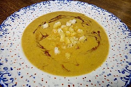 Möhren - Linsen Suppe auf karibische Art 2