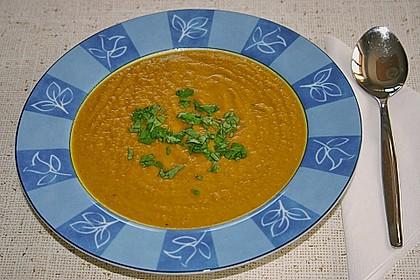 Möhren - Linsen Suppe auf karibische Art 6