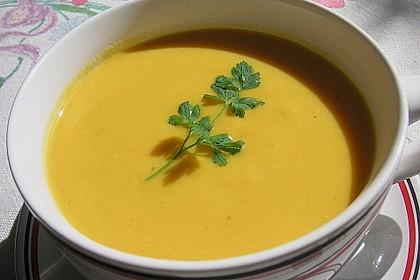 Möhren - Linsen Suppe auf karibische Art 3