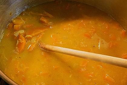 Möhren - Linsen Suppe auf karibische Art 9