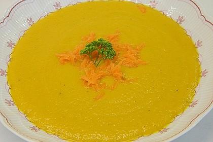 Möhren - Linsen Suppe auf karibische Art 1