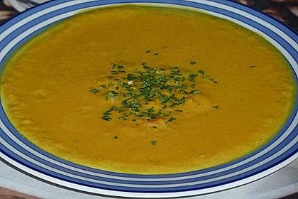 Möhren - Linsen Suppe auf karibische Art 7