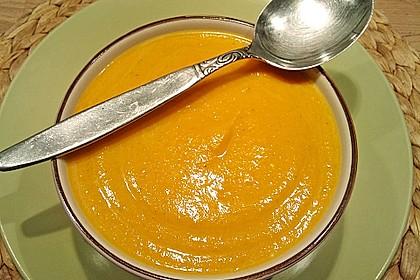 Möhren - Linsen Suppe auf karibische Art 4