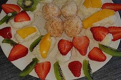 Sushi mal anders - süß als Dessert 15