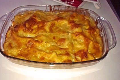 Kürbis - Lachs - Lasagne (Bild)