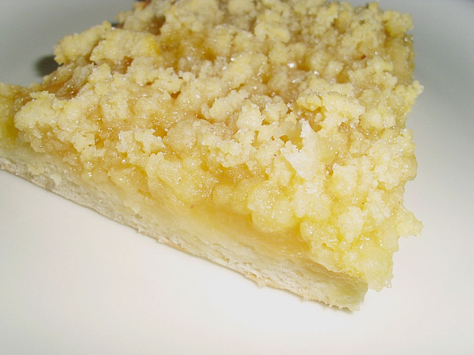 Apfelkuchen Mit Streuseln Vom Blech Von Manuela26 Chefkoch De