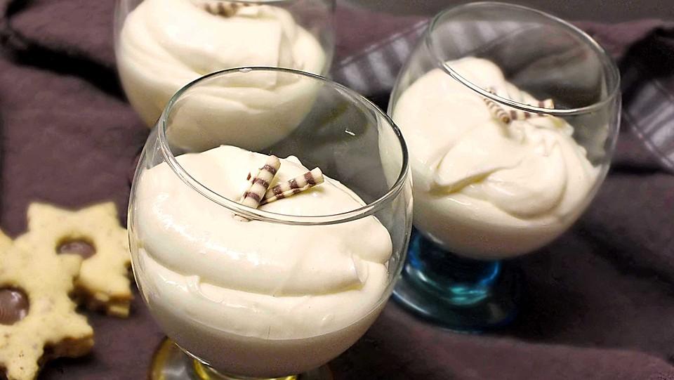 Weiße Mousse Au Chocolat Von Erdbeermaus26 Chefkoch