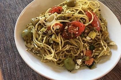 Bibis sommerlicher Spaghetti-Gemüse-Salat 4