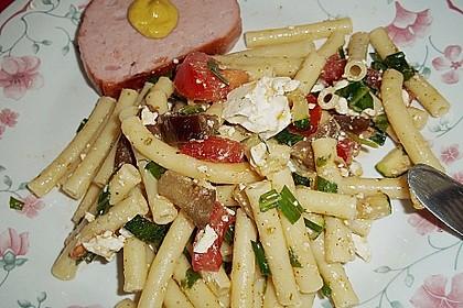 Bibis sommerlicher Spaghetti-Gemüse-Salat 13