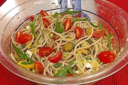 Bibis sommerlicher Spaghetti-Gemüse-Salat 7
