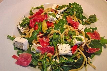 Bibis sommerlicher Spaghetti-Gemüse-Salat 1