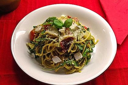 Bibis sommerlicher Spaghetti-Gemüse-Salat 9