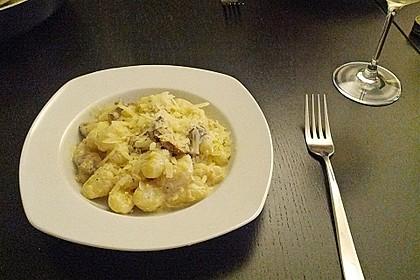 Gnocchi Champignon Pfanne 13