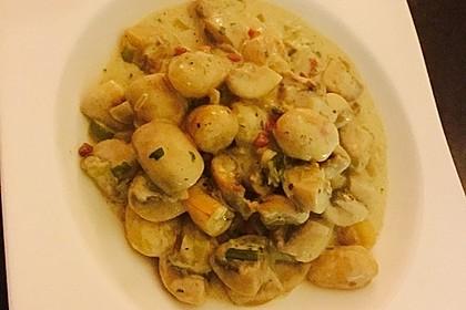 Gnocchi Champignon Pfanne 15