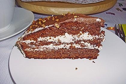 Nuss - Nougat Torte 6