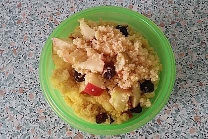Süßer Couscous - Salat 7