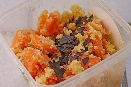 Süßer Couscous - Salat 1