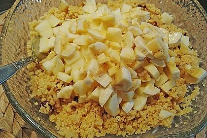 Süßer Couscous - Salat 5