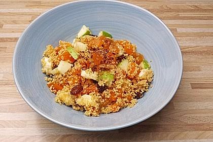 Süßer Couscous - Salat 2