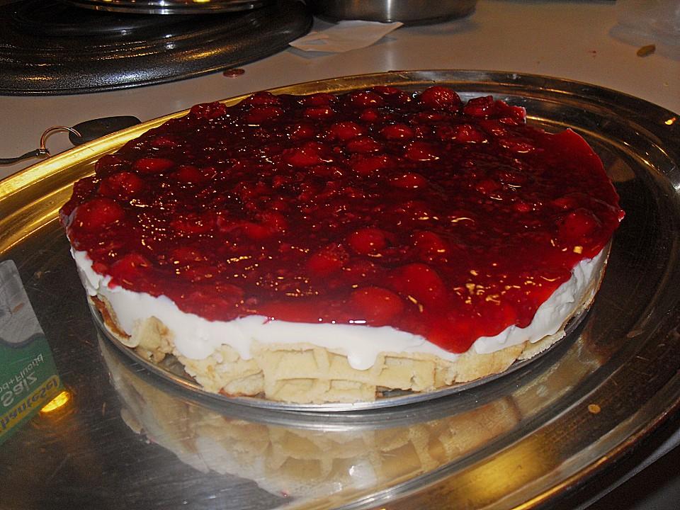 Rote Grutze Kuchen Ohne Backen Von Azura10 Chefkoch De