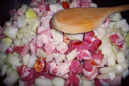 Bauernfrühstück Hamburger Art als Auflauf 5