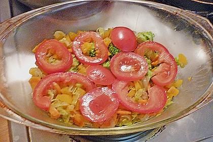 Heilbutt auf Gemüse unter einer Kartoffelhaube 2