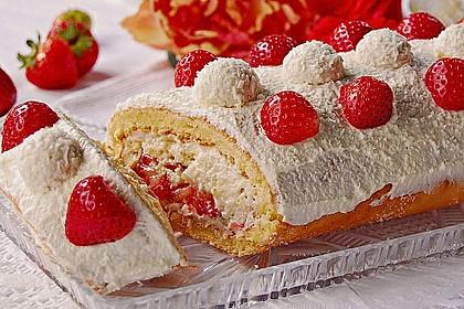 Erdbeer - Raffaello - Rolle