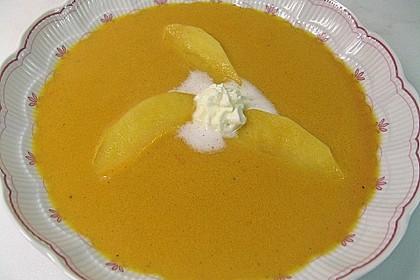 Möhrensuppe mit Apfel und Ingwer 8