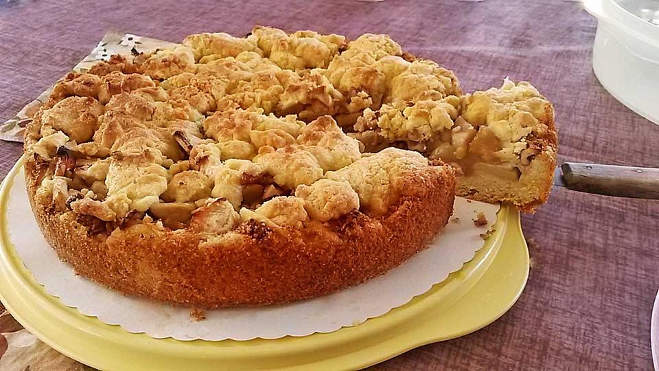 Apfel Walnuss Kuchen Von Zori31 Chefkoch De