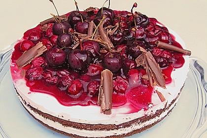 Kirsch - Quark - Torte