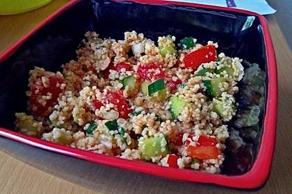 Couscous - Salat mediterran 1